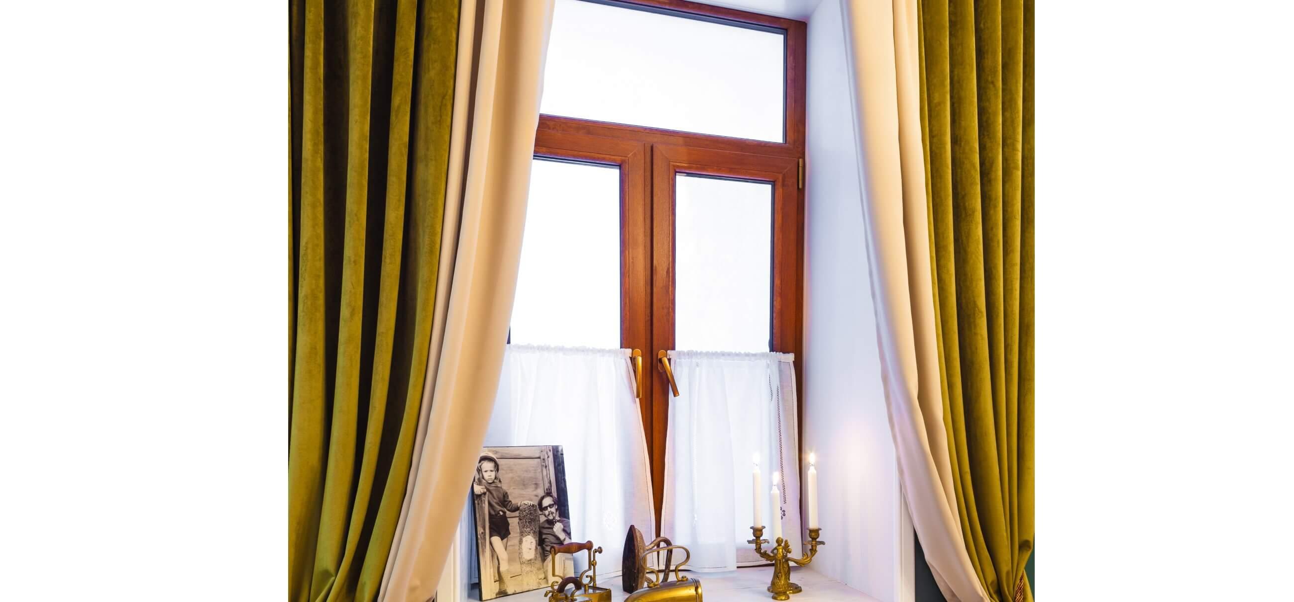 стильные окна с низкой рамой